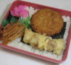 ¥300海苔弁当(メンチ)