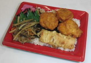 ¥300海苔弁当(唐揚げ)